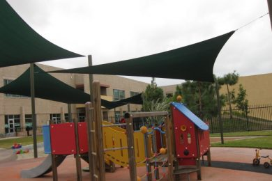 PLAYGROUND SHADE COVERS