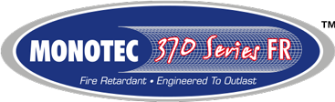 monotec 370 fr shade cloth logo