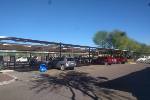 parking lot shade sails ca